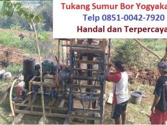 Tukang Sumur Bor Yogyakarta Telp 085100427920